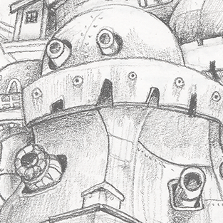 Howl's Moving Castle from Studio Ghibli ©2013